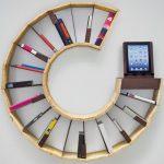 Ra Dinding Unik Untuk Dekorasi Ruang Tamu Menaruh Buku