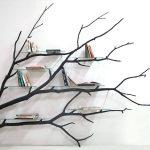 Rak Buku Berbentuk Pohon Unik Terbaru