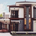 Rumah Minimalis 2 Lantai Mewah