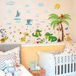 Sticker Dinding Kamar Anak Dengan Motif Hewan Laut Terbaru