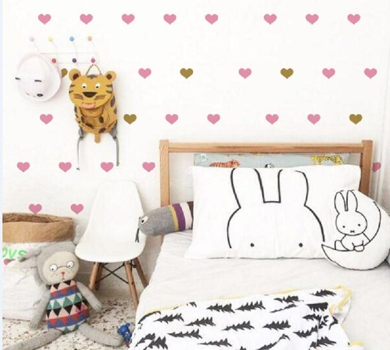 Sticker Dinding Kamar Tidur Berbentuk Love Sebagai Dekorasi Dinding Kamar Tidur Terbaru Kreatif