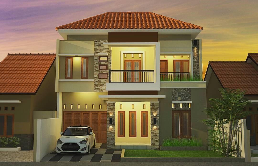 Desain Teras Rumah Lantai 1  Contoh Hu