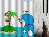 Terai Kamar Mandi Dengan Motif Doraemon Terbaru