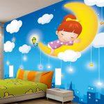Wallpaper Dinding 3d Kamar Anak