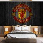 Wallpaper Dinding Kamar Anak Laki Laki Manchester United