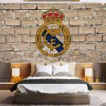 Wallpaper Dinding Kamar Anak Laki Laki Real Madrid