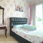 Wallpaper Dinding Kamar Tidur Romantis Terbaru Kreatif
