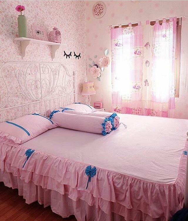 Wallpaper Dinding R Tidur Shabby Chic Dengan Kombinasi Yang Bagus