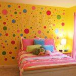 warna cat kamar tidur anak perempuan kuning
