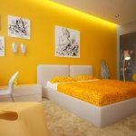 warna cat kamar tidur kuning