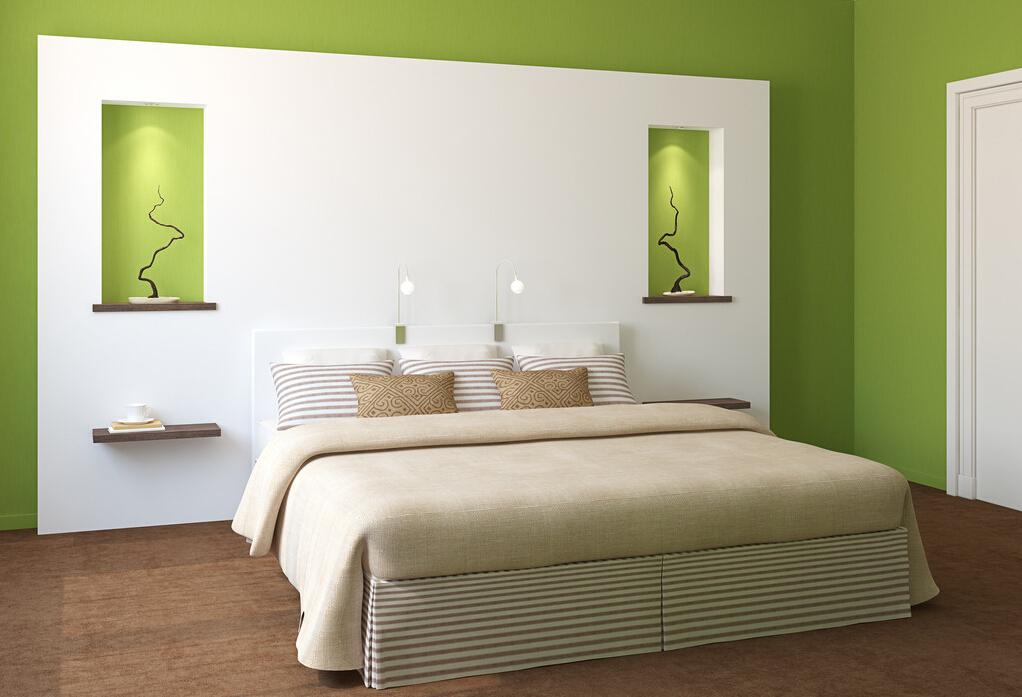 Warna cat bilik tidur yang menarik for Dekor kamar hotel buat ulang tahun