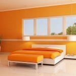 Warna Cat Kamar Tidur Yang Menenangkan Orange Kuning