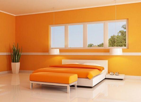 101 Foto Desain Kamar Tidur Cat Orange HD Paling Keren Unduh Gratis