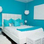 Warna Cat Tembok Biru Untuk Kamar Tidur Minimalis