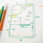 Denah Rumah Sederhana 6x12
