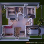 Denah Rumah Sederhana Minimalis