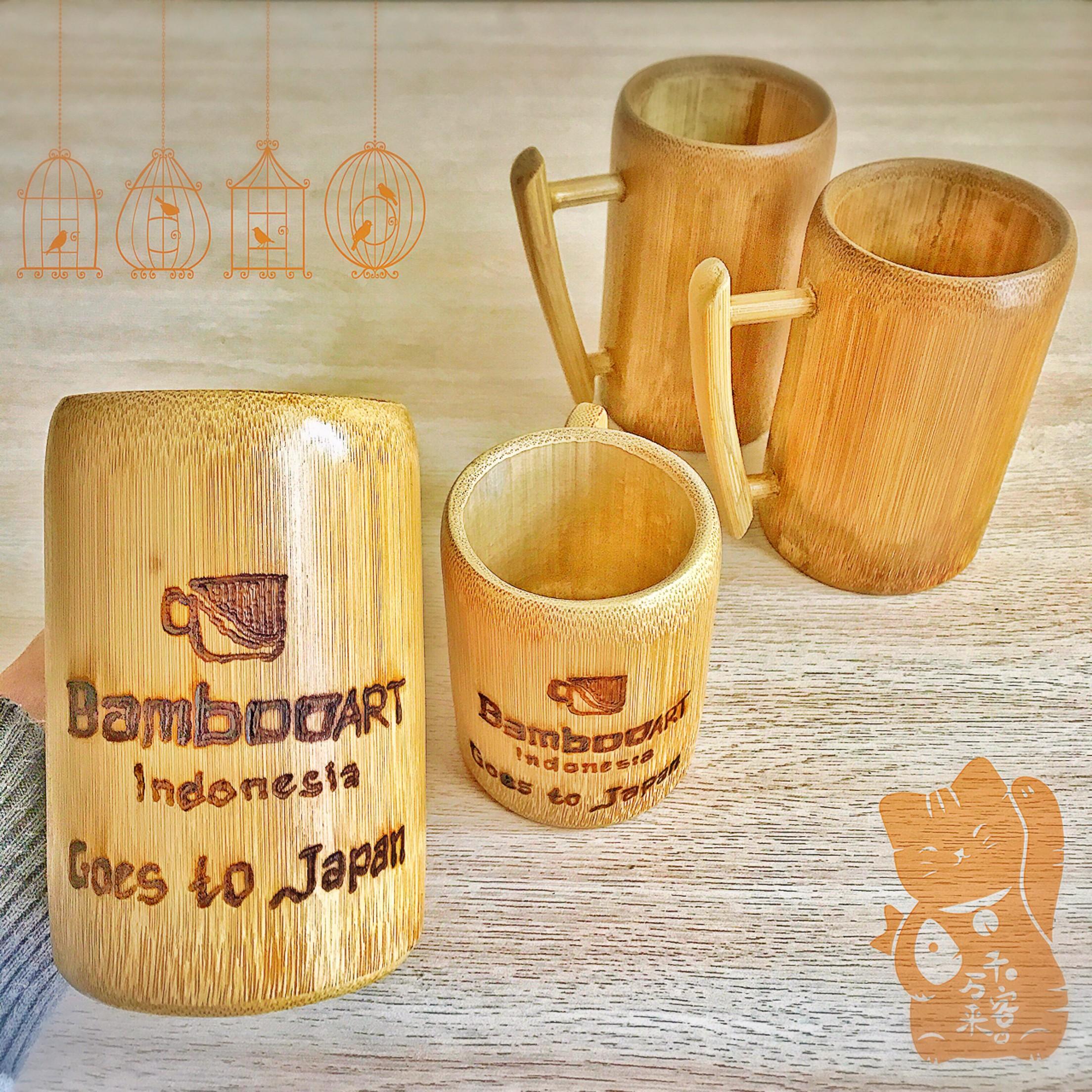 Cara Membuat Gelas Dari Bambu
