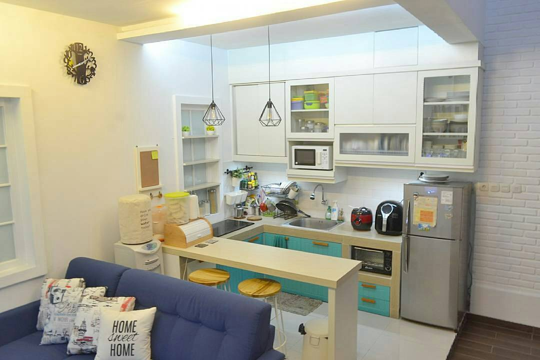 Dekorasi dapur minimalis aneka dekorasi dapur minimalis for Dekorasi rumah minimalis
