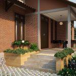Dekorasi Depan Rumah Minimalis Sederhana