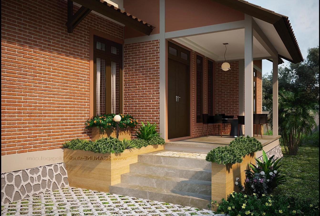 107 Desain Taman Minimalis Depan Rumah Type 36 Terbaru