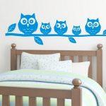 Dekorasi Dinding Kamar Tidur Dengan Wallpaper Motif Burung