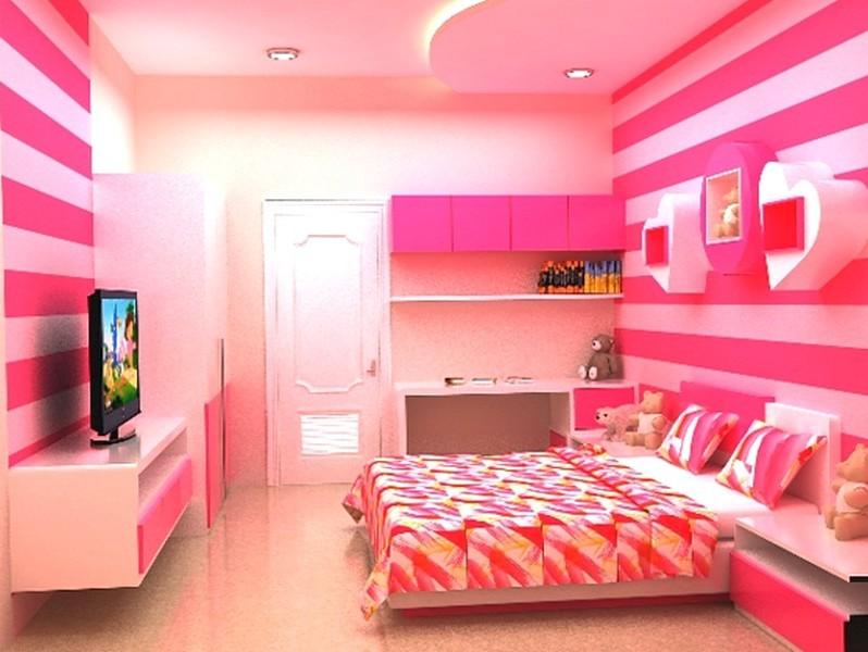 View Desain Kamar Tidur Cat Warna Pink Images | SiPeti
