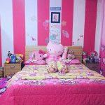 Dekorasi Kamar Pink Terbaru Sederhana Minimalis Mewah