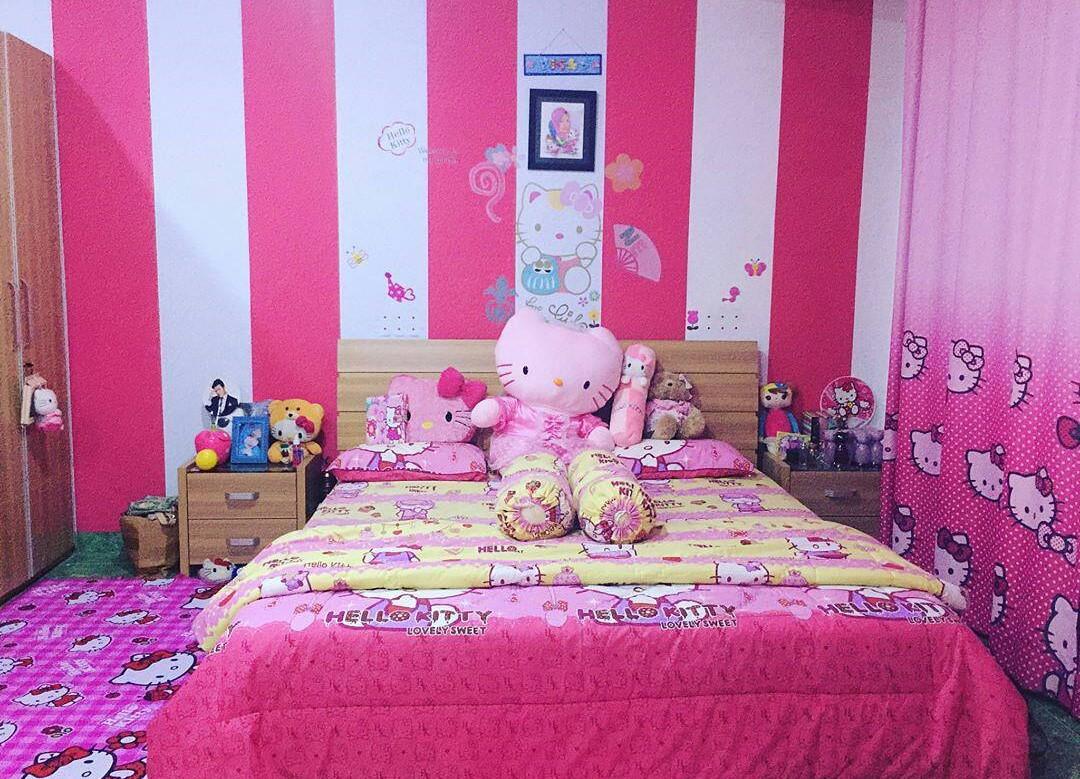95+ Model Kamar Minimalis Pink Paling Bagus