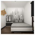 Dekorasi Kamar Tidur Rumah Minimalis Terbaru