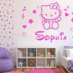 Desain Dinding Kamar Hello Kitty