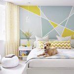 Desain Dinding Kamar Tidur Dengan Pilihan Warna Cat Yang Bagus