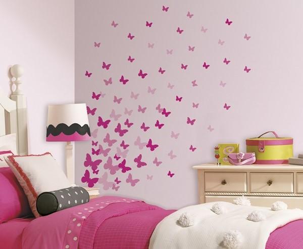 20 desain dinding kamar tidur minimalis kreatif 2017