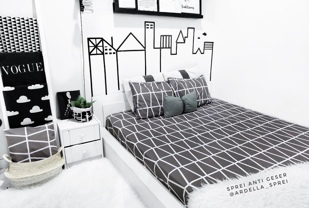 Desain Dinding Kamar Tidur Kreatif Terbaru