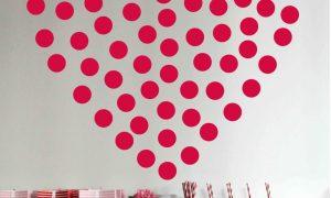 Desain Dinding Kamar Tidur Minimalis Berbentuk Love