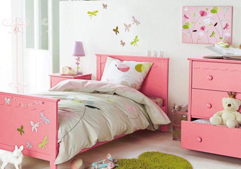 17 desain kamar tidur warna pink minimalis terbaru 2017