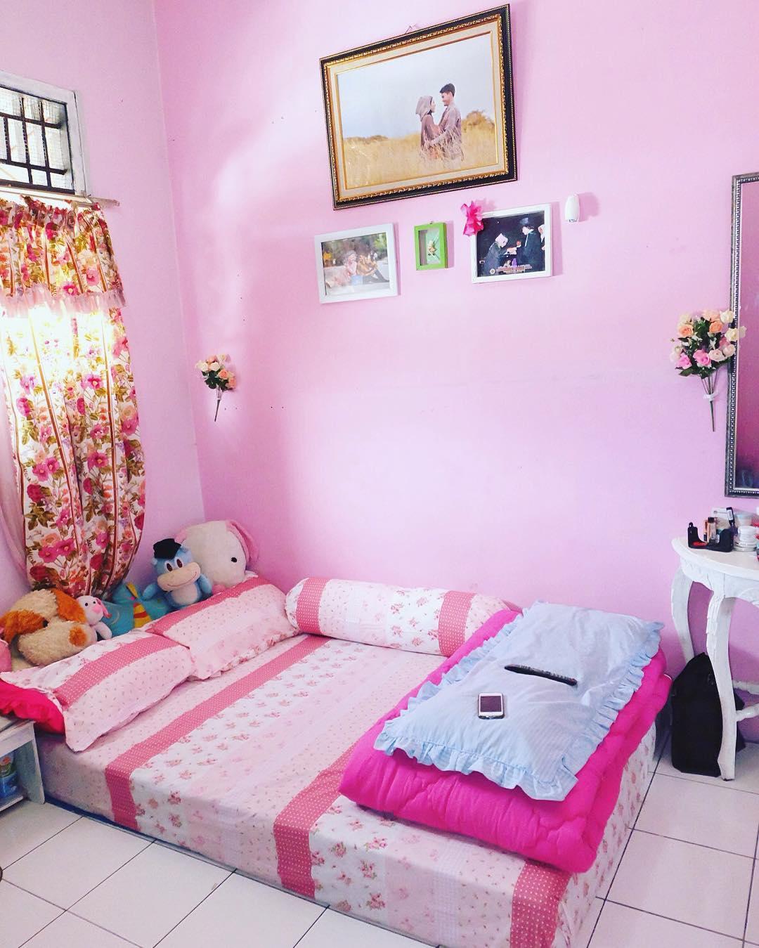 17 Desain Kamar Tidur Warna Pink Minimalis Terbaru 2018 Dekor Rumah