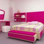 Desain Kamar Tidur Pink Remaja