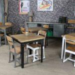 Desain Meja Kursi Cafe Set Minimalis