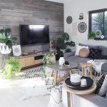 Desain Ruang Keluarga Kecil Sempit Sederhana