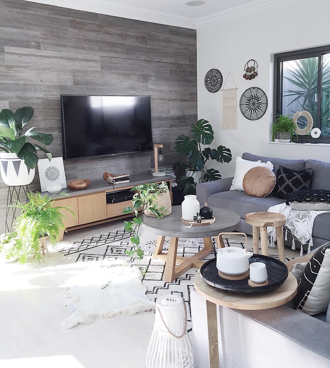 31 Kreasi Desain Ruang Keluarga Minimalis Terbaru 2018 Dekor Rumah