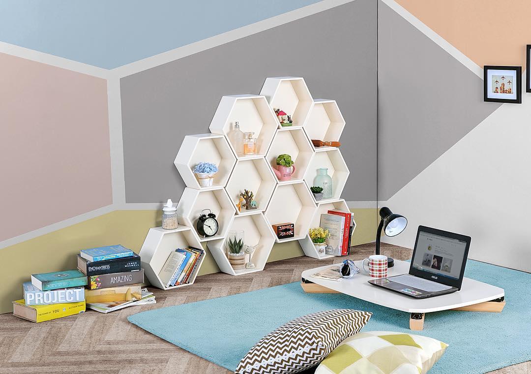 Desain Ruang Keluarga Lesehan Dengan Warna Cat Keluarga Yang Bagus