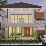 Foto Desain Rumah Minimalis 2 Lantai Modern