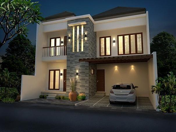 9100 Gambar Rumah Minimalis Elegan 2 Lantai HD