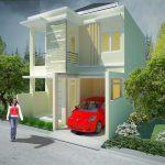 Foto Rumah Minimalis 2 Lantai Tampak Depan