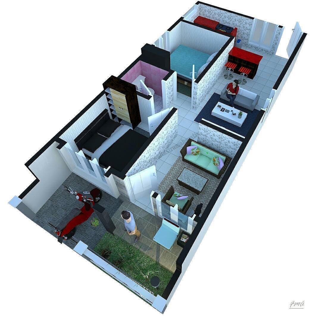 Gambar Denah Rumah Minimalis Terbaru