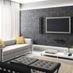 Gambar Ruang Keluarga Minimalis Sempit Sederhana