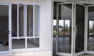 Harga Kusen Pintu Aluminium Minimalis