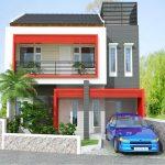 Ide Warna Cat Rumah Minimalis 2 Lantai Tingkat
