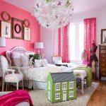 Kamar Warna Pink Putih