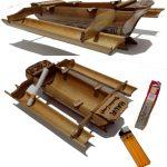 Kerajinan Kapal Dari Bambu